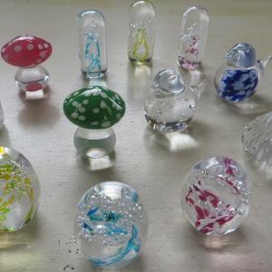 ガラスはんこ作り体験