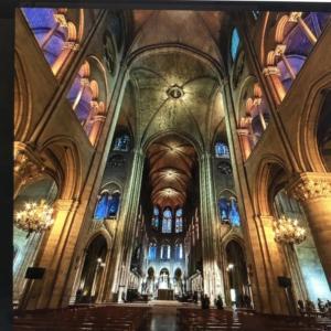 ノートルダム大聖堂のガーゴイル達
