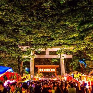 大國魂神社(おおくにたまじんじゃ)の暗闇祭り