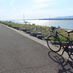 淀川河口で海を見ながら絶景サイクリング