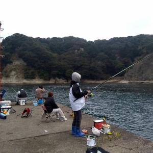 3/30 今年の初釣り、いいね(^^♪