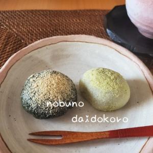 春のお菓子★よもぎ道明寺、うぐいす餅、桜のレアチーズケーキ♪