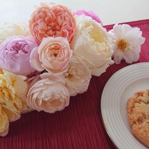香りの秋薔薇とコメント感謝!