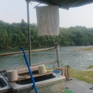 8月5日矢作川【広瀬】