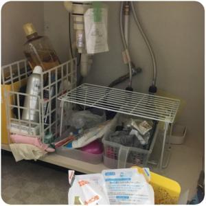 洗面台の断捨離と决掴創2