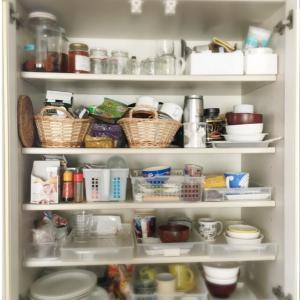 【断捨離】キッチン 大物だった食器棚【決掴創】