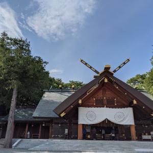 秋分の日は北海道神宮参拝からスタートです