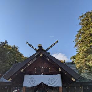 天赦日は北海道神宮参拝からスタートですm(_ _)m