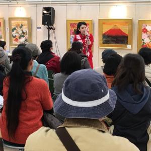 山陽百貨店個展トークショー第3日第1部