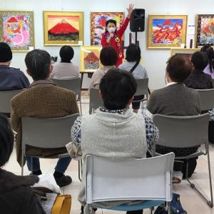 山陽百貨店個展トークショー第1日第1部