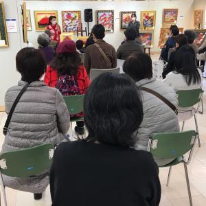 山陽百貨店個展トークショー第3日目第1部