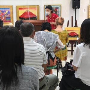 加古川ヤマトヤシキ個展トークショー第2日第1部