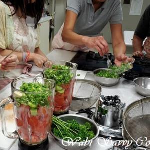 9月7日料理講習レポ