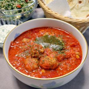 暑い時は暑い国の料理 ~ 中東風ミートボールのトマト煮 ~