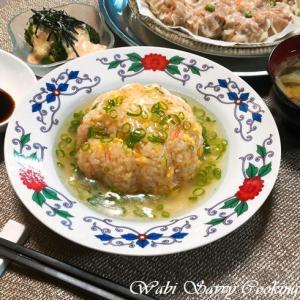 懐かしいロンドンの味 ~あんかけ蟹風炒飯~