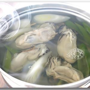 メシ通『魚介を使った簡単レシピ 』☆ 牡蠣のしゃぶしゃぶ!