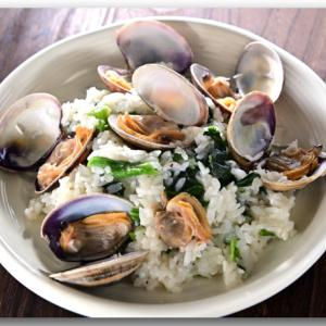 メシ通『魚介を使った簡単レシピ 』☆ 超簡単!あさりのおひとり様リゾット