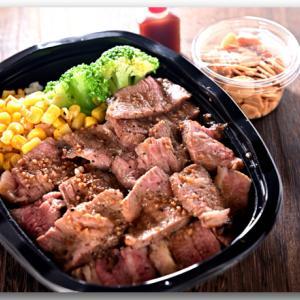 リブステーキ丼 〜STEAK MAFIAテイクアウト〜