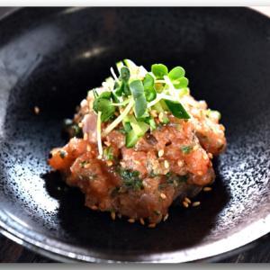 メシ通『魚介を使った簡単レシピ 』☆ 痺れとサーモンがなめろうでコラボ!