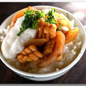 メシ通『魚介を使った簡単レシピ 』☆ ロールイカをうまうまな生姜焼き丼に!