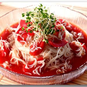 しらすとトマトの冷製和えそうめん ☆ 子育て情報メディア KIDSNA/キズナ