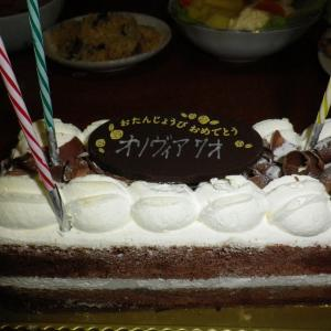 今年最後の誕生日 9月30日 オリヴィア 7歳 ゚゚*。★おめでとうございます★。*゚(*V_v