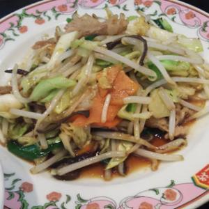 餃子の王将 八千代店 日替わりランチは野菜炒めだった550円なり