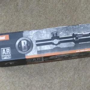 スコープ選択 Bushnell ブッシュネル AR OPTICS  1-4x 24mm Throw Down PCL  AR91424I 実銃用