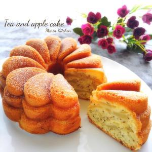 紅茶とりんごのケーキ♡