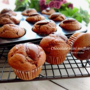 Chocolate mini muffin♡