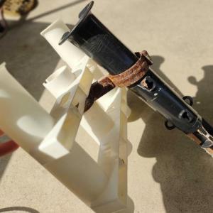 ロッドホルダーの修理