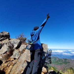 西日本最高峰の旅