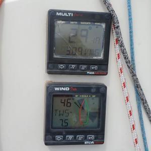 ヨットの航海計器