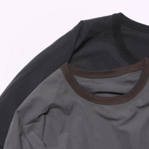 【ENCENS】素材と色味がツボなTシャツ。