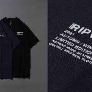 【RIPVANWINKLE】本日より発売開始となった別注T。