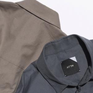 【ATON】一足早く2021年秋の一押しシャツが入荷しました。