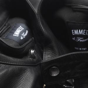 【EMMETI】特別な革を採用した別注JURI、入荷しました。