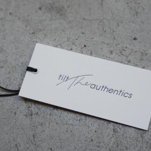 【tilt the authentics】多くの方が求めている絶妙な生地厚のカットソー。