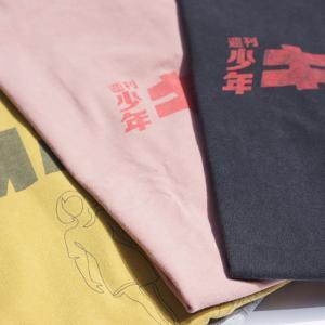 【REMI RELIEF】ユーモアの効いたプリントTシャツ。