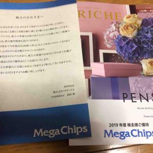 メガチップスから株主優待が届きました