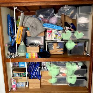 寝室の押し入れの収納&断捨離