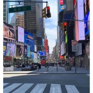 眠らない街 ニューヨーク