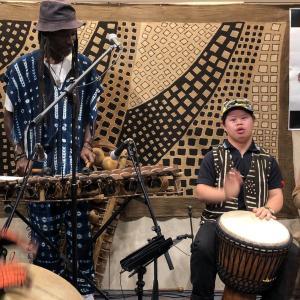 「Ousumane Diedhiou」CDリリースライブ