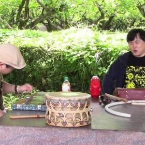 タケオと巻上公一さんとの即興セッション no.2