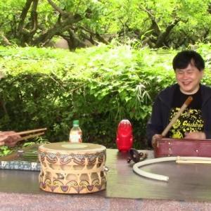 タケオと巻上公一さんとの即興セッション no.3