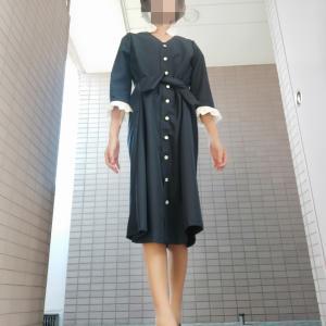 コアコア デイリーウェア コートドレスをアレンジ