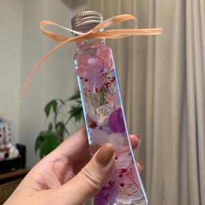 桜のハーバリウム