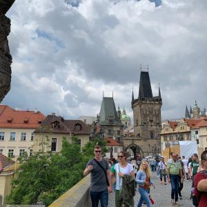初のヨーロッパへ。 カレル橋 in チェコ
