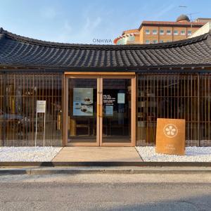 韓国、光州、ドンミョンドンの美味しいスフレ、パンケーキカフェ、オンファ온화溫花ONHWA