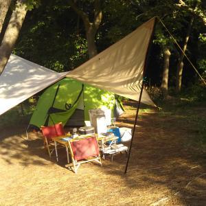 富津キャンプ場で潮干狩りキャンプ ★その2